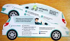 Co-Wheels Car Club Flyer   Smarter Travel Ltd
