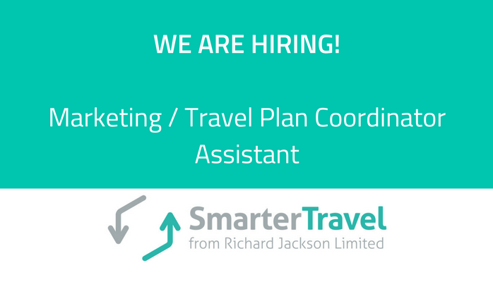 Marketing / Travel Plan Coordinator Assistant | Smarter Travel Ltd