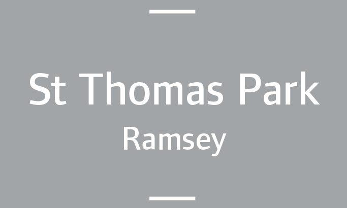 St Thomas Park, Ramsey | Smarter Travel Ltd