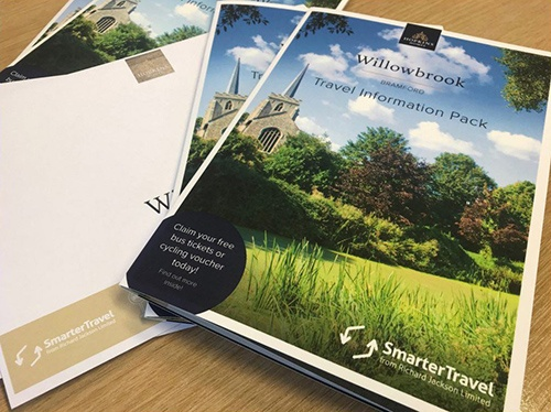 Willowbrook, Bramford, Hopkins Homes   Smarter Travel Limited